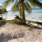 Пляж на острове Саона