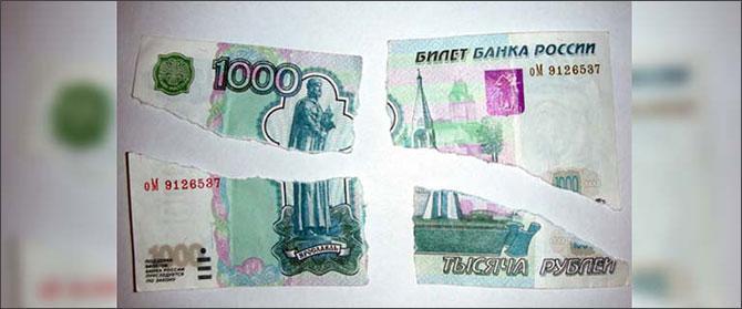 Можно ли обменять порванную купюру в Сбербанке и примут ли доллары?