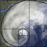 Золотое сечение можно увидеть даже в урагане со спутника...